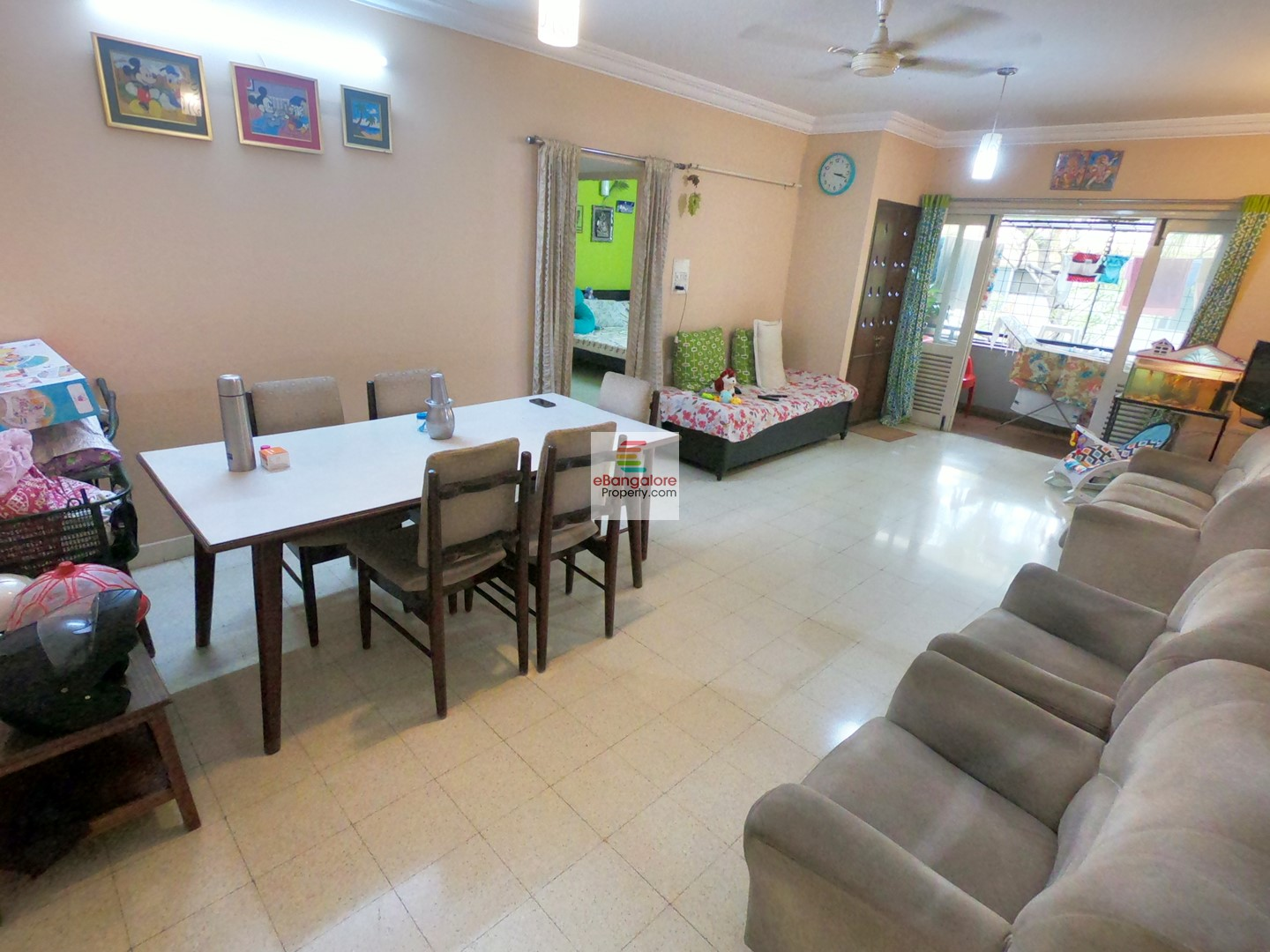 Frazer Town – 2BHK Flat for Sale – Just 2.2 KM from Brigade/MG Road