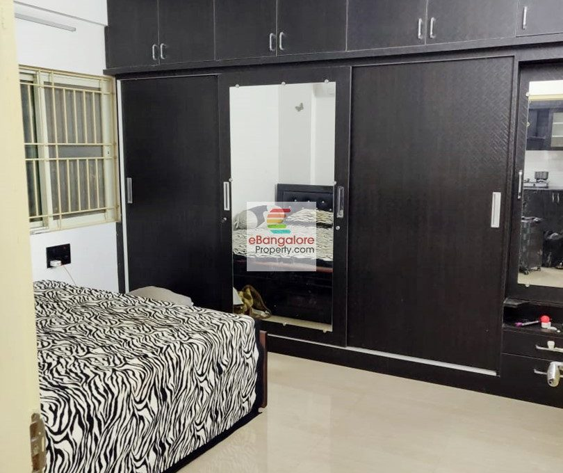 Bedroom with wardrobes