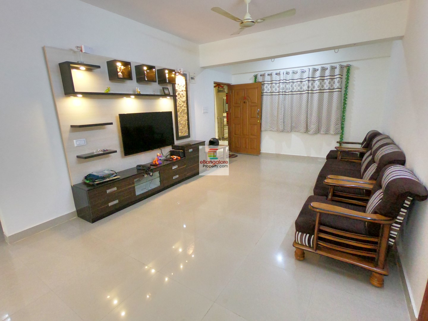 Yelahanka Jakkur – 3BHK Semi-furn East Facing Flat for Sale – With Modern Amenities
