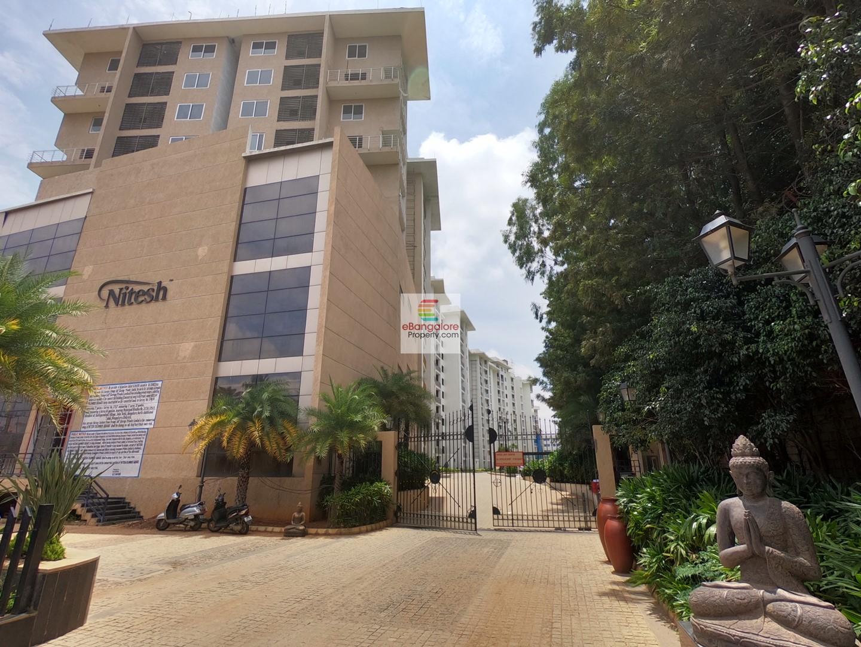 Yelahanka KIA Road – 3BHK Flat for Sale in Nitesh Columbus Square – With Luxurious Amenities
