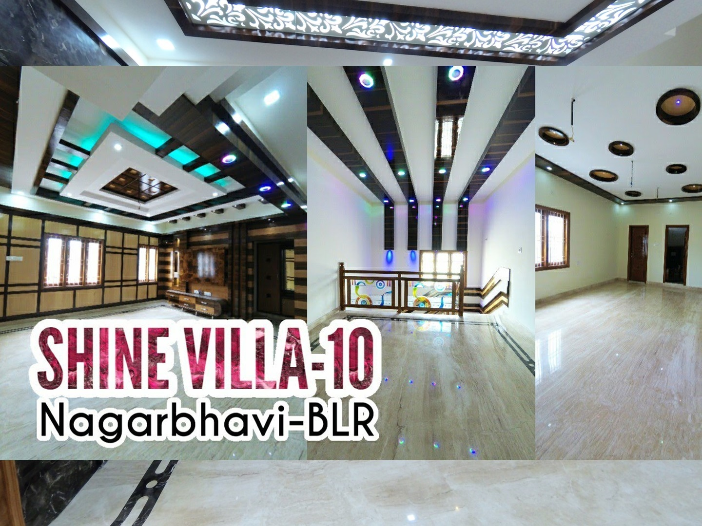 Nagarabhavi Shine Villa – 4BHK Triplex Independent House for Sale on 30×40 – Luxurious Bungalow with Central Lift