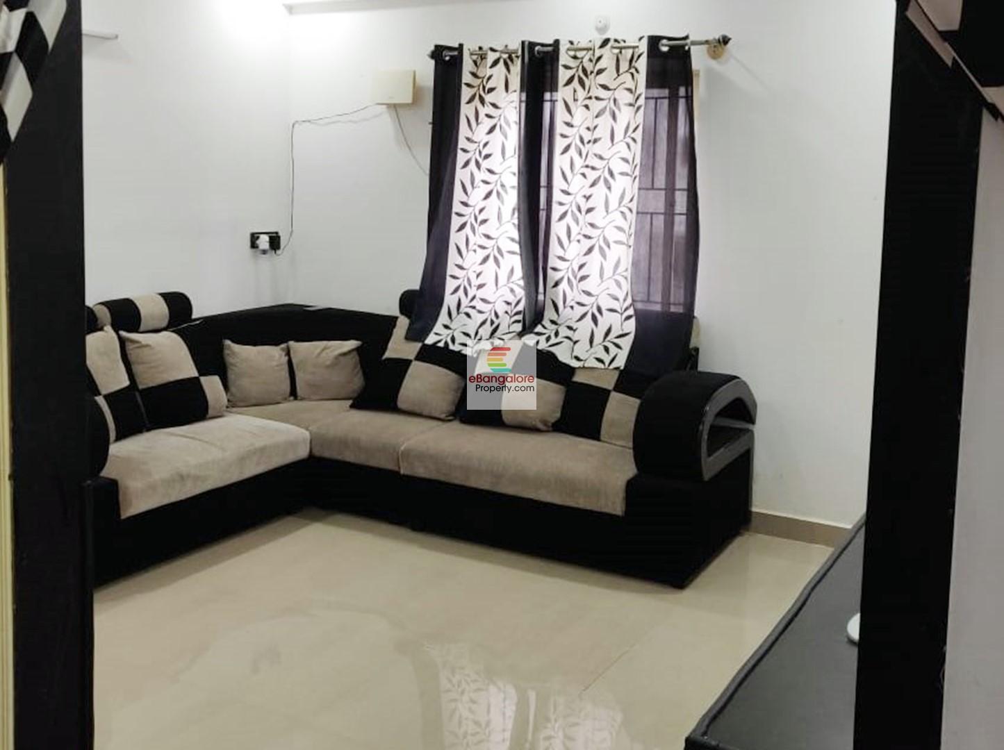 Akshay Nagar BTM Ext – 2BHK Semi-Furn Flat for Sale – Just 4 KM from IIMB