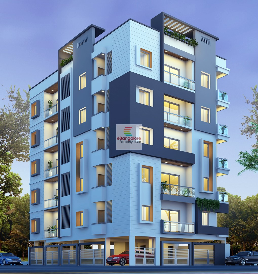 RT NAGAR – 3BHK New Flat for Sale – Near to Manyata