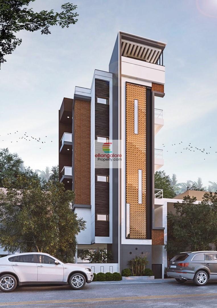 Basapura Off Hosur Road – New 5 Unit A Khata Building  for Sale – 1 KM to Hosa Road Metro Stn.