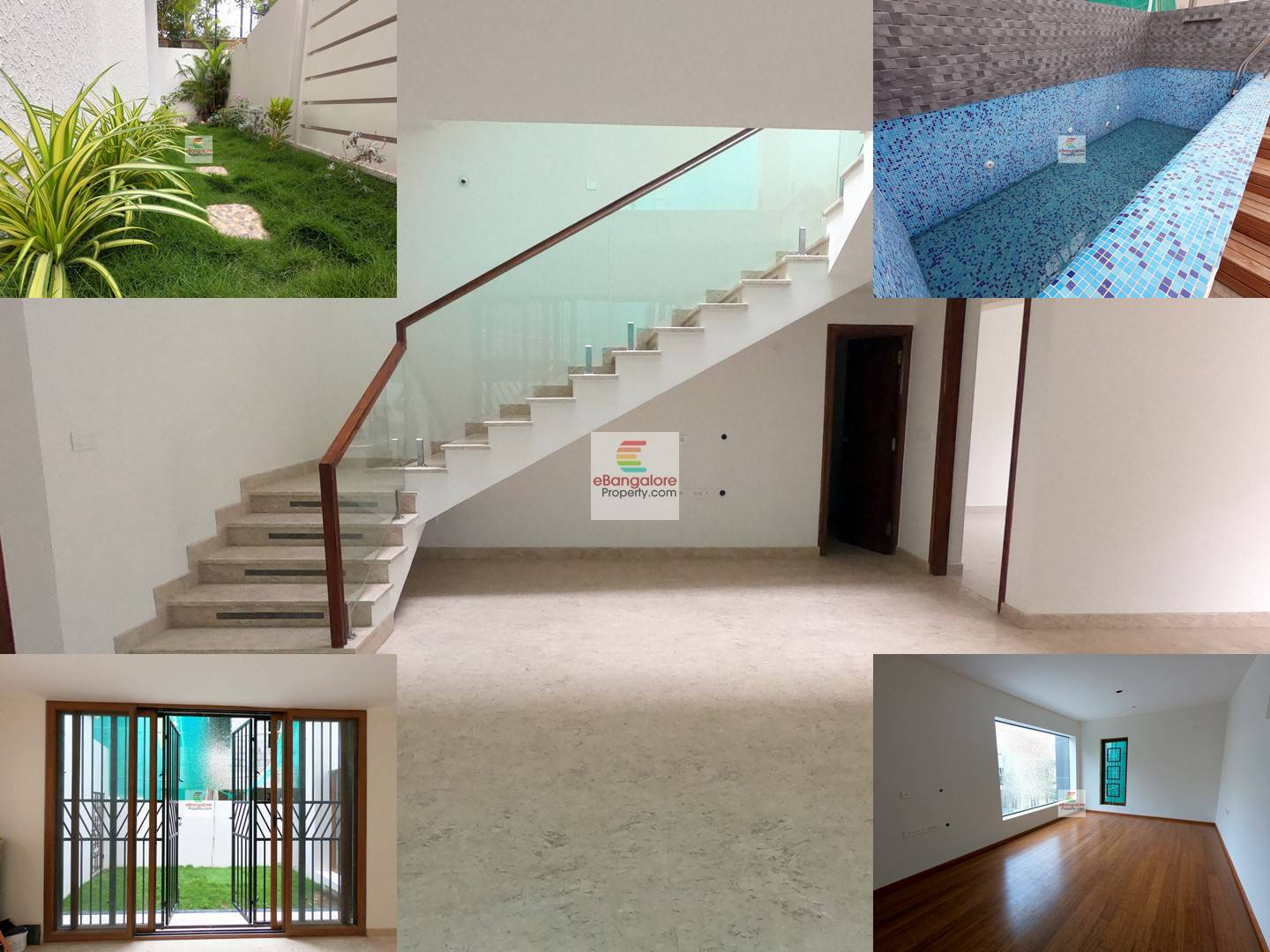 OMBR Layout – 4.5BHK Grand Bungalow For Sale on 40×60 – With Private Swimming Pool