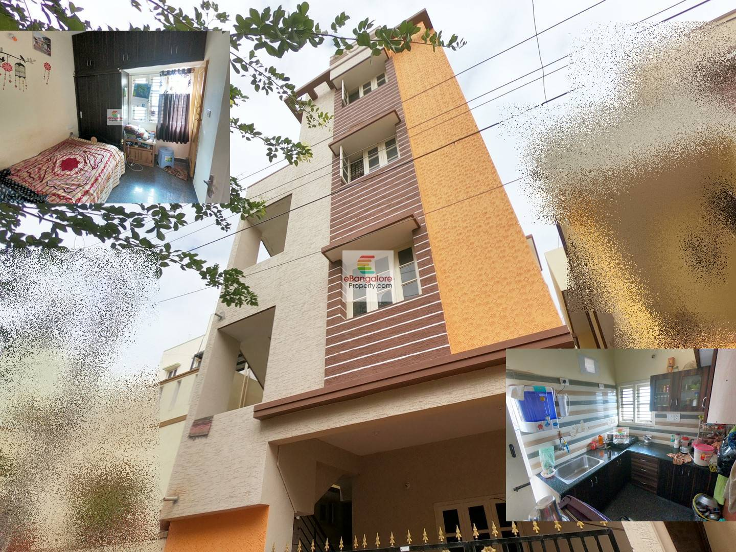Jalahalli Extension – 4 Unit Building for Sale on 20×30 – At Affordable Price
