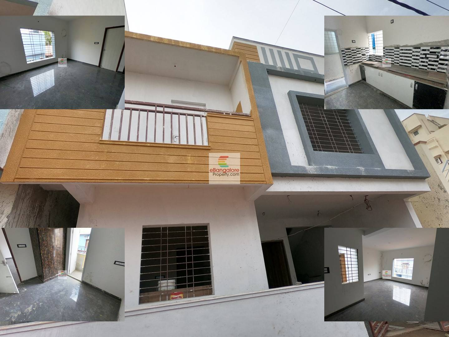 Thanisandra – 2 Unit Building for Sale on 25×42 Site – Semifurn 2BHK+3BHK Houses