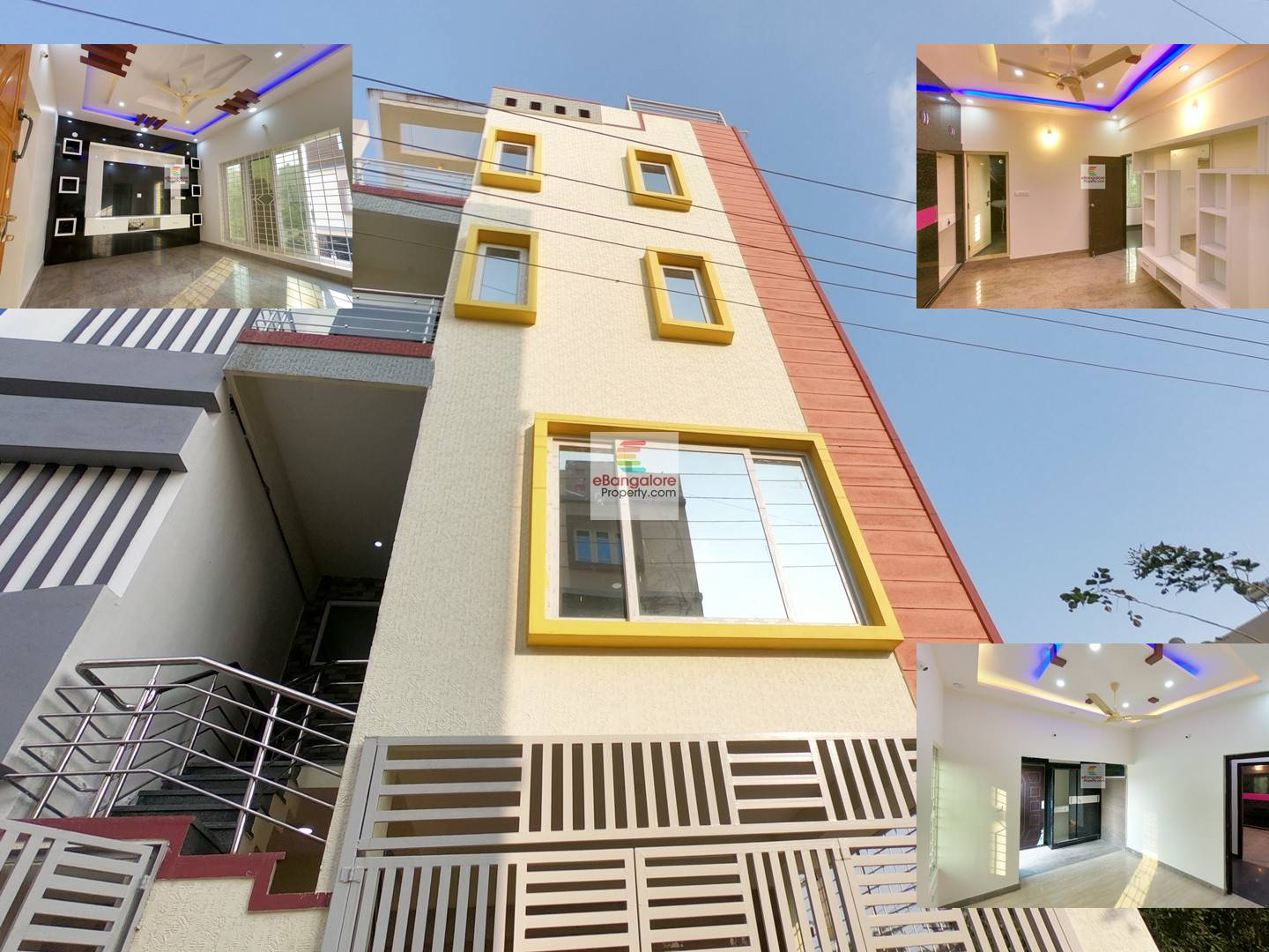 COZY Home 12 in Nagarabhavi Ext. SMV Layout – 3BHK Triplex Independent BDA House For Sale- With Modern Interiors