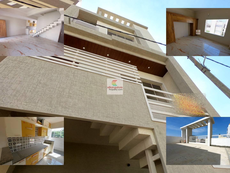 Jakkur Ext. – 3BHK Duplex Independent House for Sale – Plus 2 Studio Units