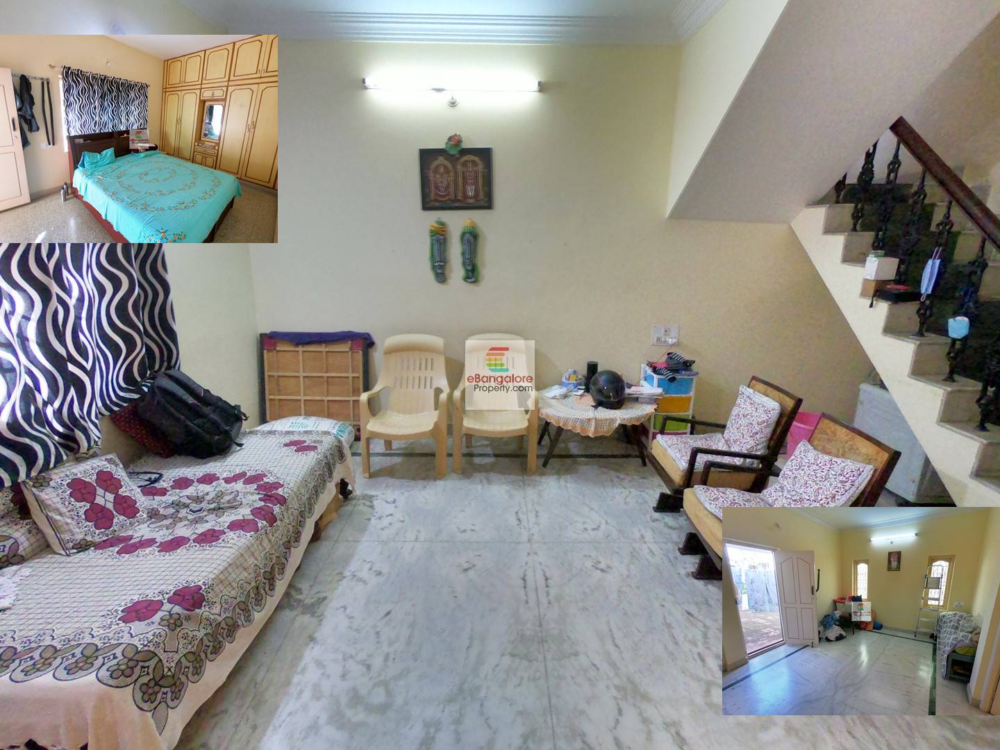 Ramamurthy Nagar – 3BHK Duplex Independent House for Sale on 30×45 – With A Khata