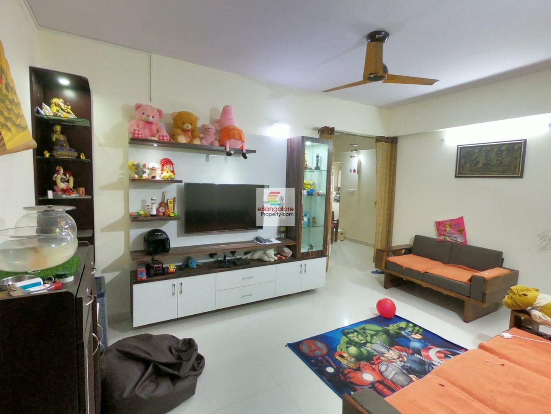 Nagavara – 2BHK Semifurnished Apartment For Sale – Near Elements Mall