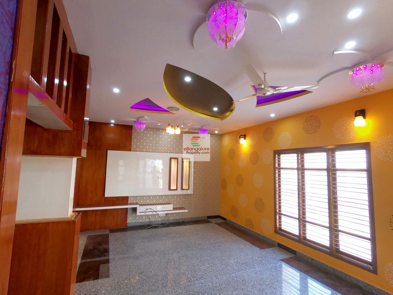 Rainbow Villa Nagarabhavi Ext – 4BHK + Study Duplex Bungalow For Sale on 30×45 – 2BHK in GF