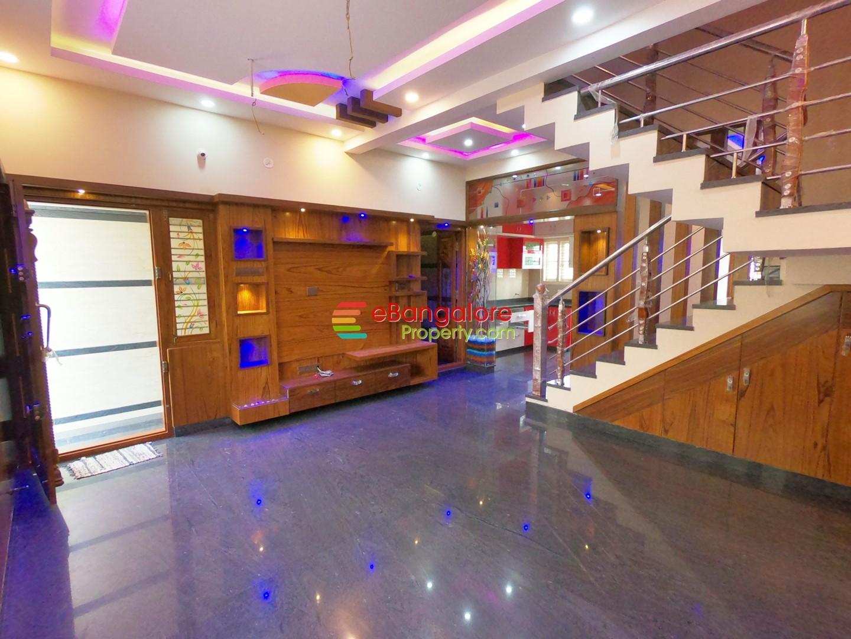 Nagarabhavi Ext BDA – 3BHK Triplex House For Sale on 20×30 – Grand Interiors