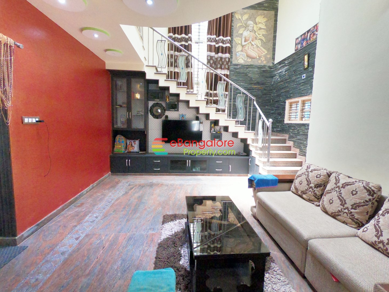 Nagasandra Tumkur Road – 3BHK Duplex Independent Corner House For Sale on 32×40 – 2KM from Metro