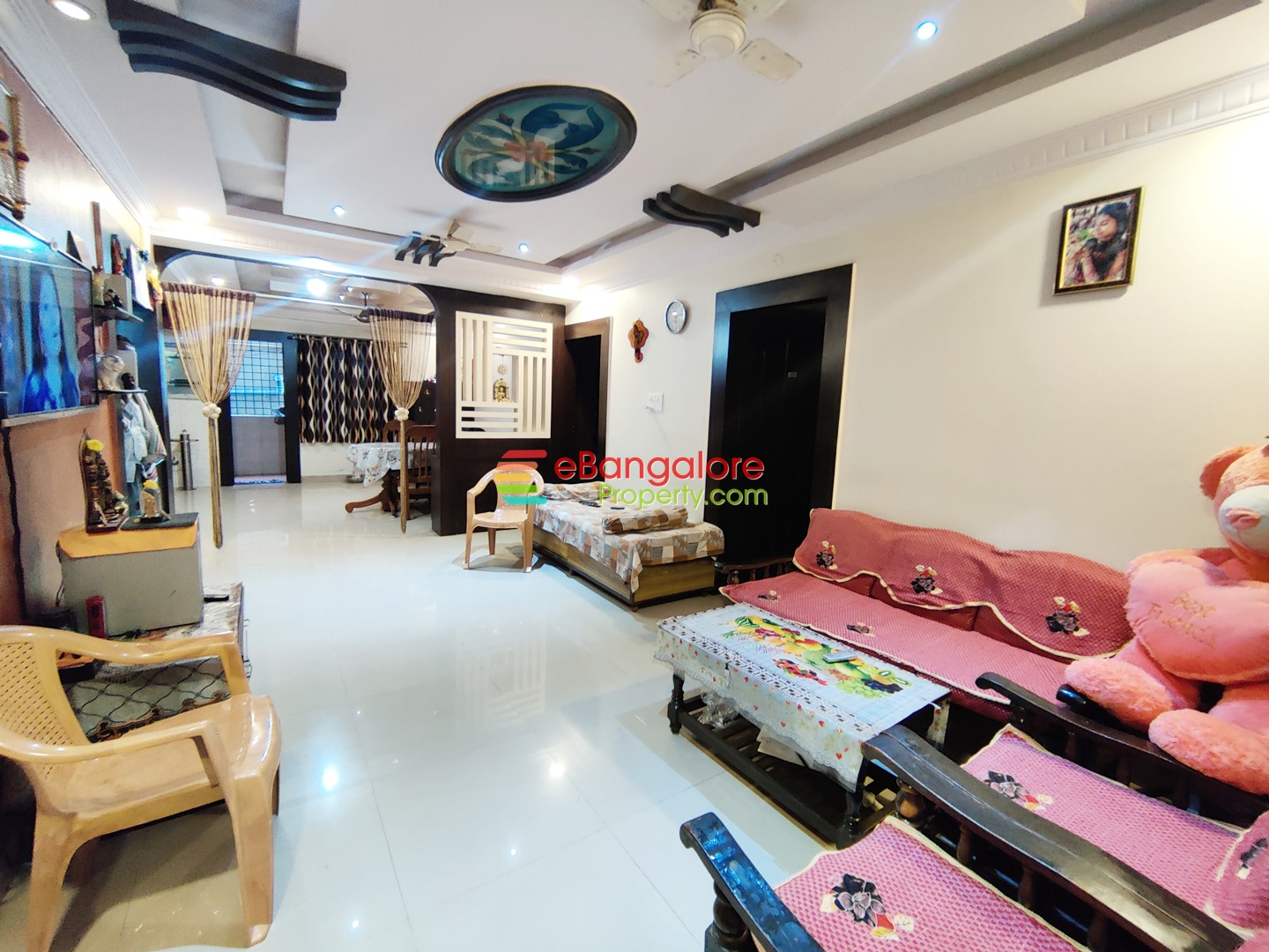 BTM Layout Ext – 3BHK Well Furnished Flat For Sale – Behind IIMB