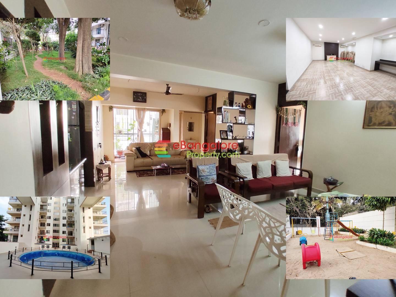 JP Nagar Extension – 3BHK Spacious Flat for Sale with all Amenities – OC/CC/A Khata