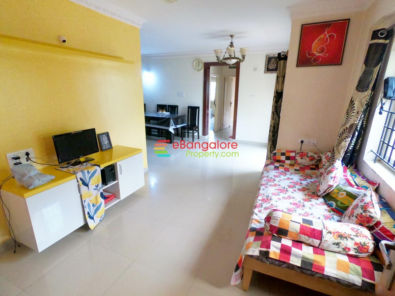 KR Puram OMR – 2BHK Semifurnished Flat For Sale With Amenities – OC/CC/A Khata