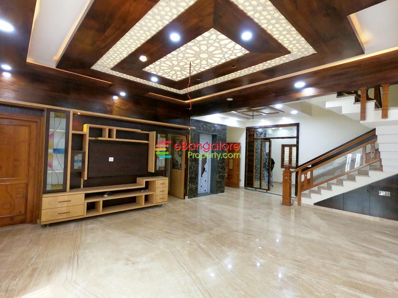 Nagarabhavi Ext BDA Layout – 4BHK Lavish Triplex House For Sale With Lift – Lavish Home 8