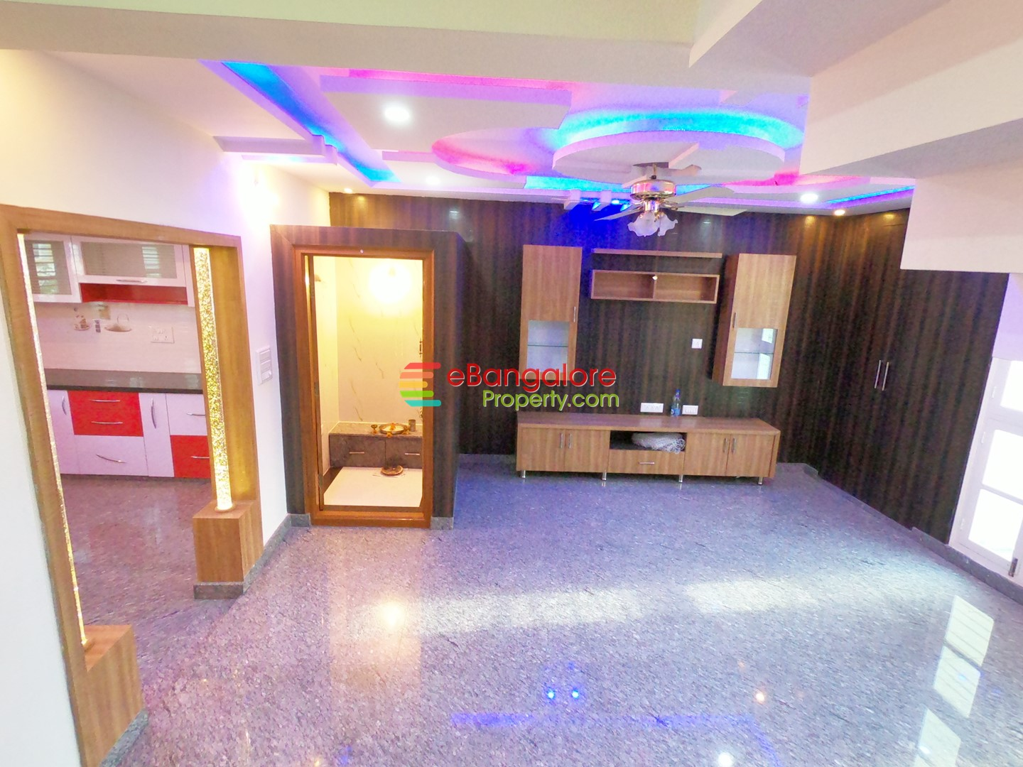 Nagarabhavi Ext SMV Layout – 3BHK Triplex Independent House For Sale – With Home Theater