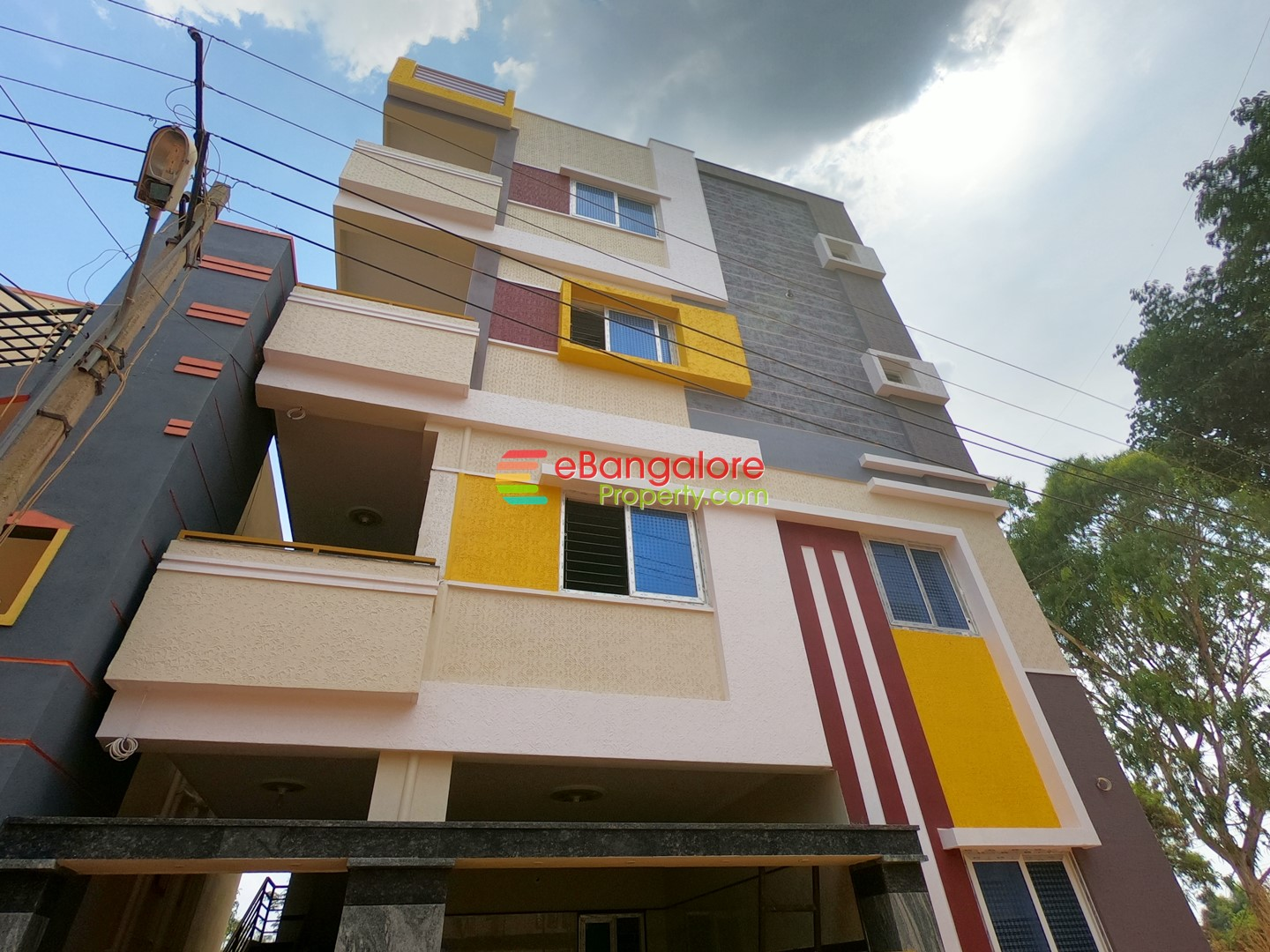 Jalahalli Abbigere – 6 Unit Building For Sale on 30×40 – Semifurnished Units