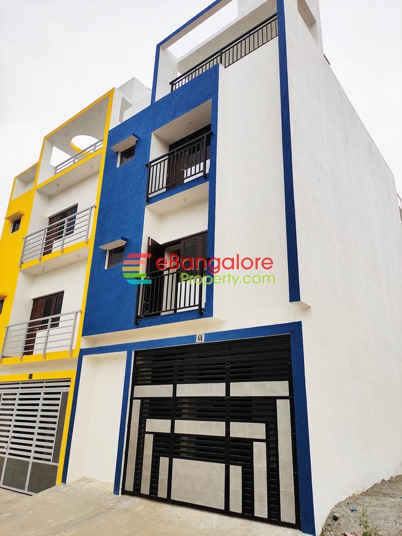 JP Nagar BDA – 3 Unit Building For Sale on 20×30 – Blue West 3