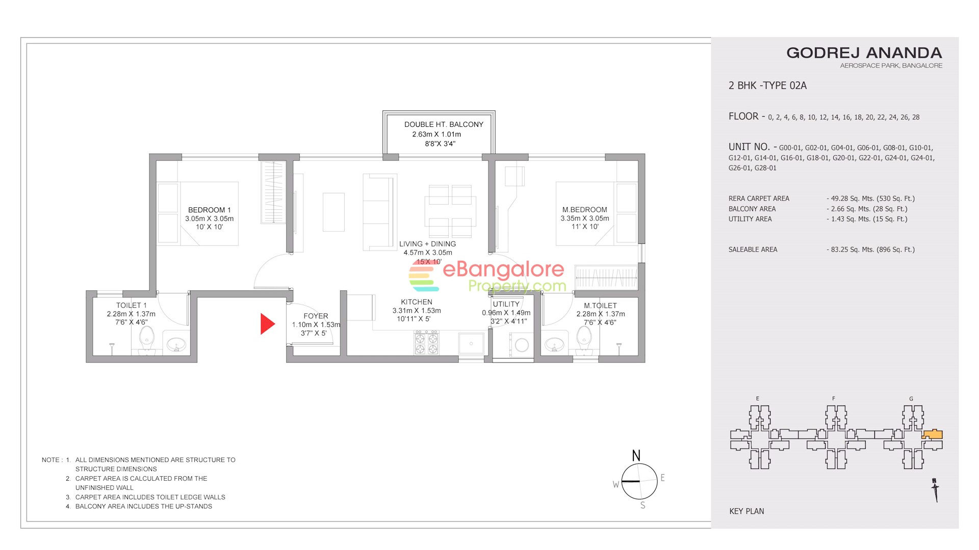 2BHK Type 02A