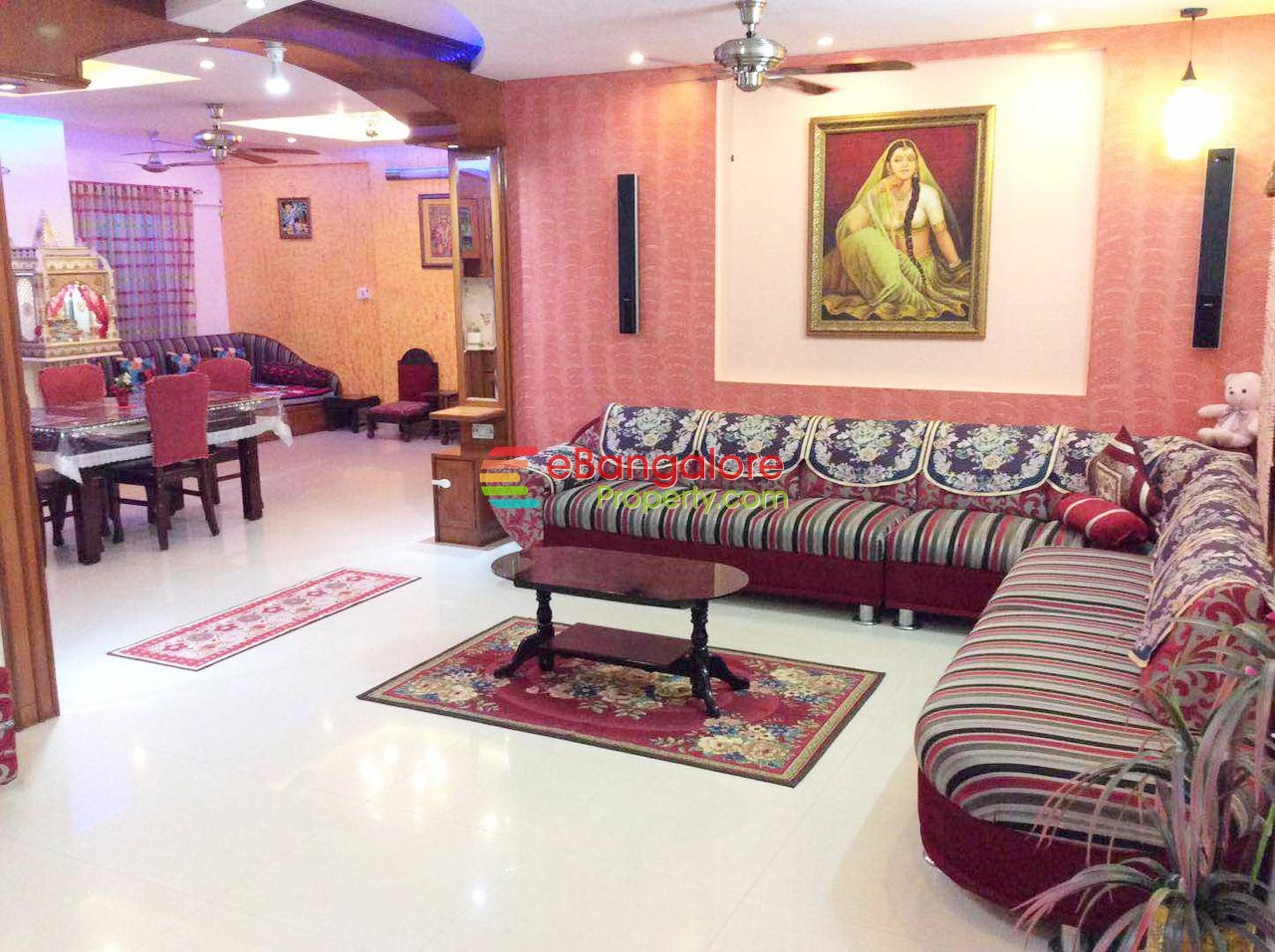 JP Nagar 6th Phase – 3BHK Fully Furnished Apartment For Sale – With OC/CC Amenities