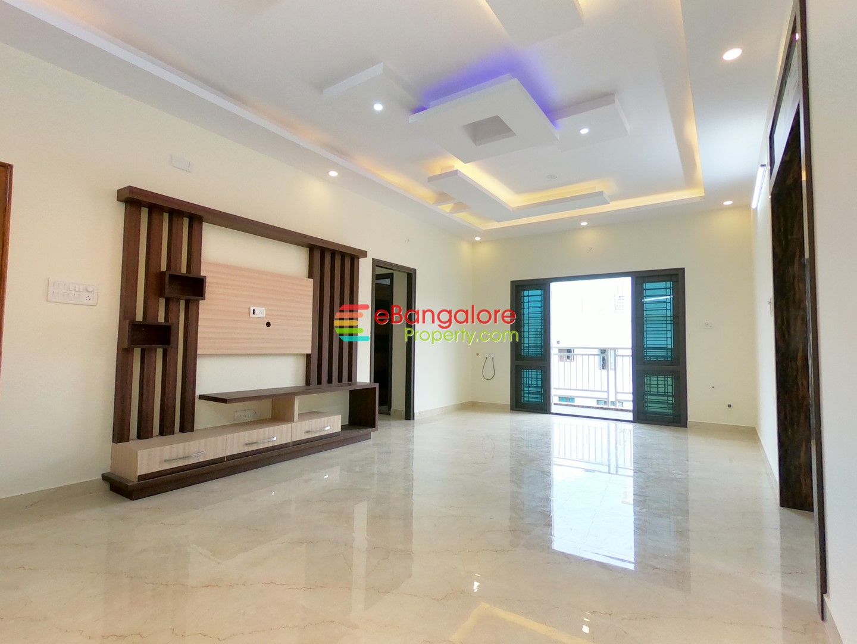 RT Nagar A Khata – 2BHK Brand New East Facing Flat For Sale – Semifurnished