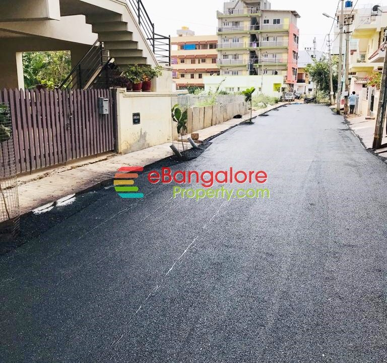 site for sale in hennur road