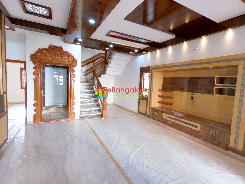 Nagarabhavi BDA – 3BHK Duplex House for Sale on 30×43 – With Home Theater