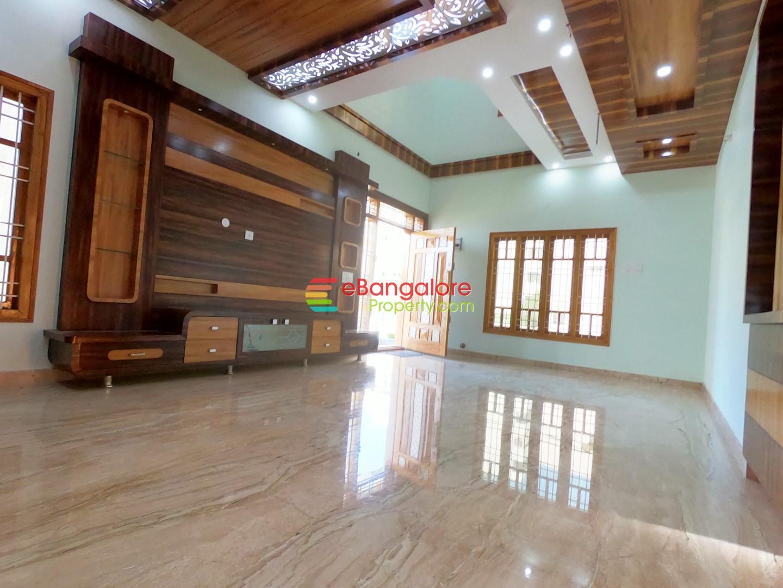 Nagarabhavi BDA – 4BHK Triplex Home For Sale on 30×40 – With Home Theater and Gym