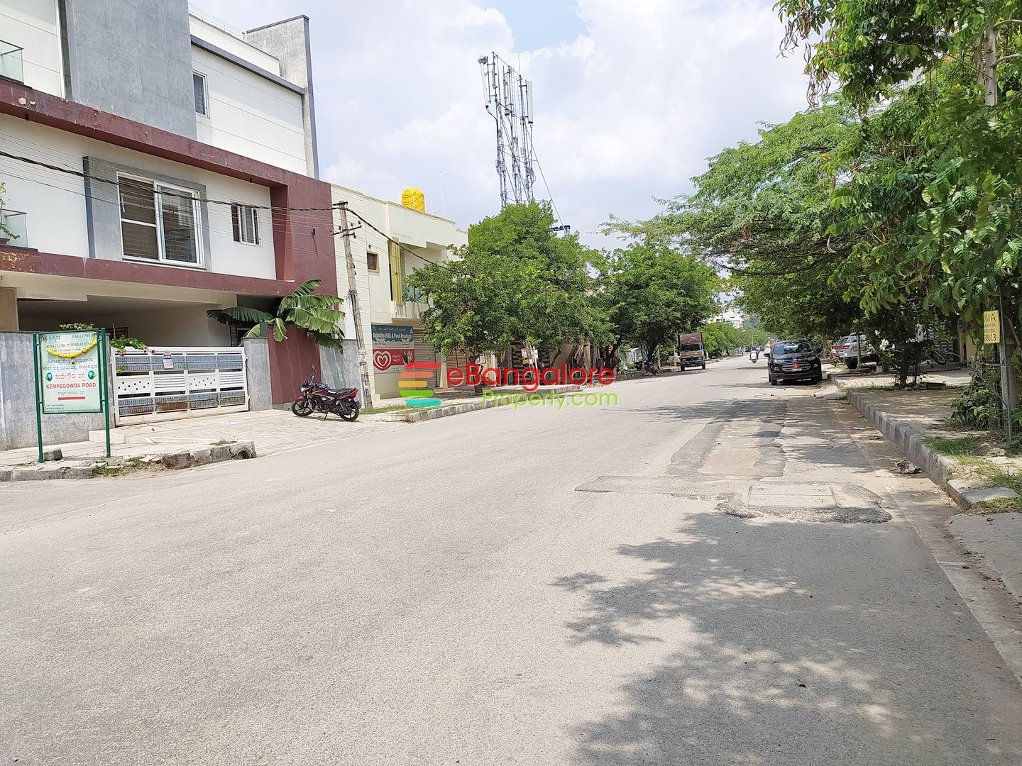 HBR Layout Ext – 50×80 Commercial BDA North Facing Site For Sale – 1.7KM from Manyata