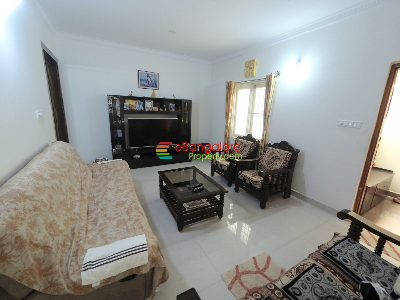 Yelahanka New Town Ext – 3BHK Semifurnished Flat For Resale – Nr Ramanshree Resort