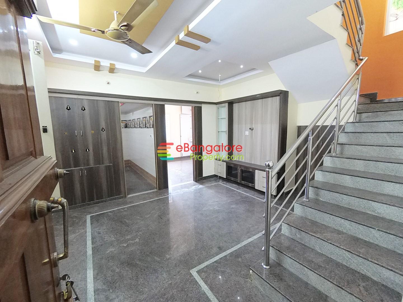 Horamavu Banaswadi – 3BHK Duplex House with 2 Rental Units For Sale – Semifurnished