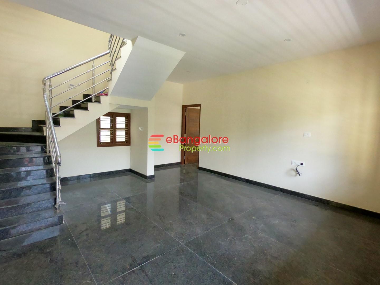 Hebbal Doddabommasandra – 3BHK+Study Independent House For Sale on 25×40 – A Khata