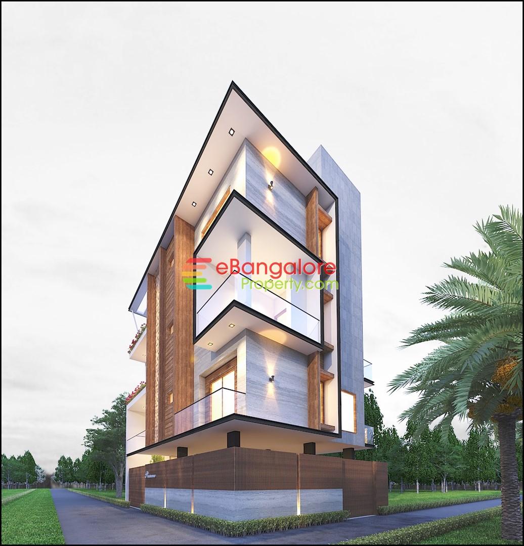 Kothanur Off Hennur Road – 3BHK Designer Bungalow For Sale on 30×40 – Corner Building
