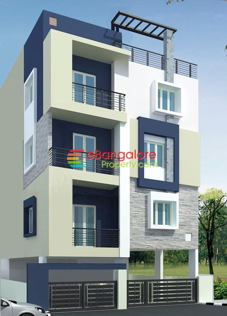 Hebbal Manyata A Khata – 7 Unit Rental Income Building For Sale on 30×40 – Semifurnished