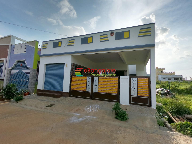 Nelamangala – 3 Unit Independent House For Sale on 30×40 – E Khata