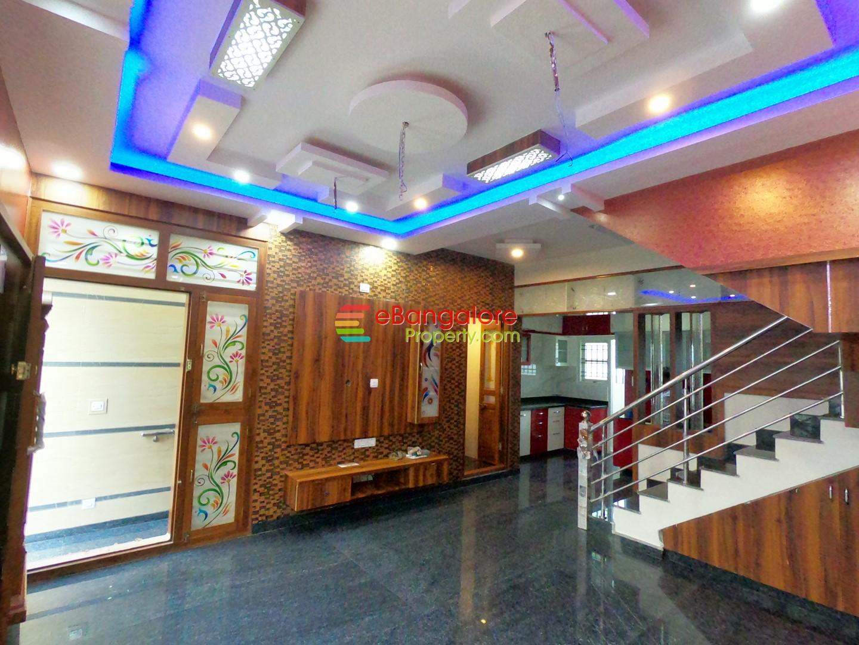 Nagarabhavi SMV Layout – 3BHK Triplex House For Sale on 20×30 – BDA A Khata