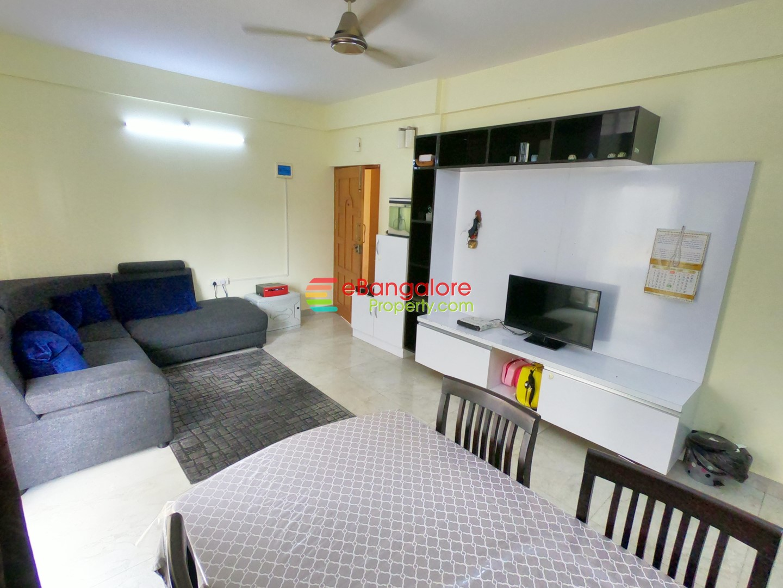 Banaswadi Richards Town – 2BHK Semifurnished Condo For Sale – A Khata