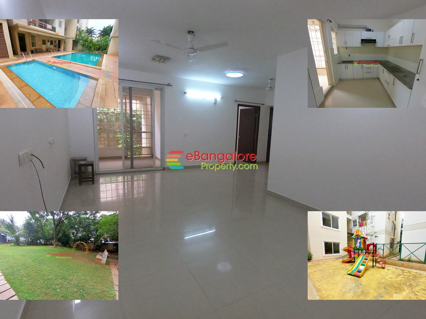 Jakkur A Khata – 3BHK Semifurnished Apartment For Sale – With OC/CC & Amenities