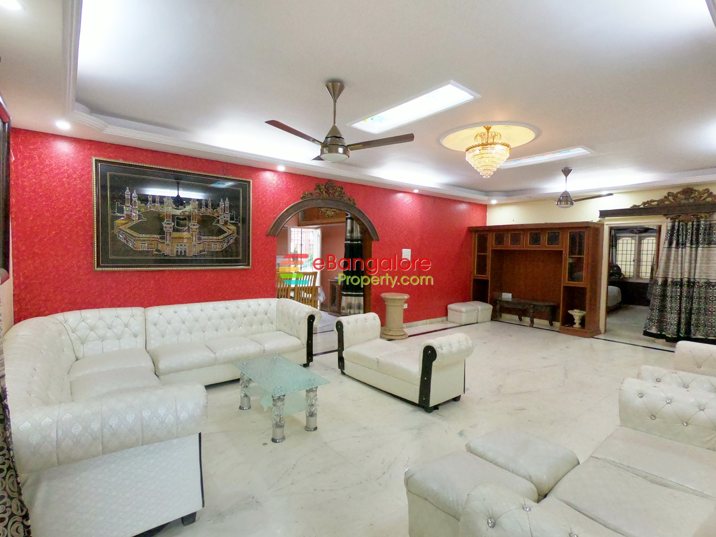 Pai Layout Tin Factory – 3BHK Large Home For Lease – Furnished